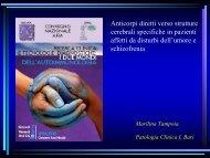 Anticorpi diretti verso strutture cerebrali specifiche in pazienti ... - Simel