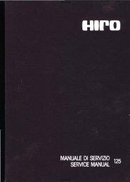 Manuel d'atelier Hiro 125 - Vintage Aprilia - Free