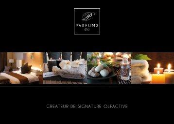 CREATEUR DE SIGNATURE OLFACTIVE - Parfums d'Ici