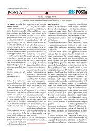 Maggio 2013 La canna nasale del Bracco italiano - Tare genetiche