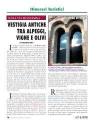 Via Francigena - Settimo Vittone - Art & Wine