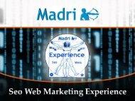 Scarica le Slide - SEO Web Marketing Experience 2013