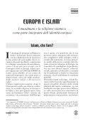 EUROPA E ISLAM - Lega Missionaria Studenti - Page 5