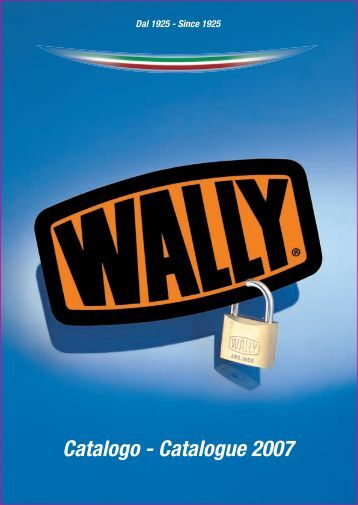 Catalogo - Catalogue 2007 - Wally