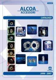 catalogo accessori alcoa 2006 - 2007