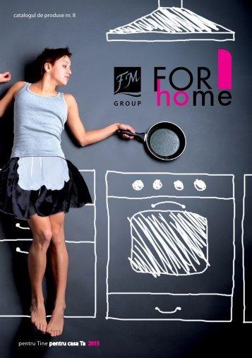 catalogul de produse nr. 8 pentru Tine pentru casa Ta 2013