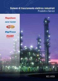 Sistemi di tracciamento elettrico industriali - Pentair Thermal Controls