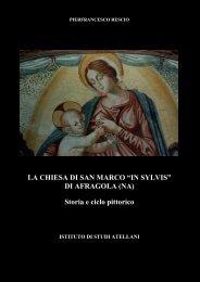 """LA CHIESA DI SAN MARCO """"IN SYLVIS"""" - Istituto studi atellani"""