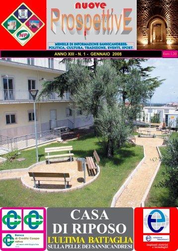 CASA DI RIPOSO - SANNICANDRONEWS.it