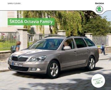 ÅÅKODA Octavia Family