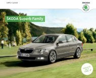 Å KODA Superb Family - Skoda