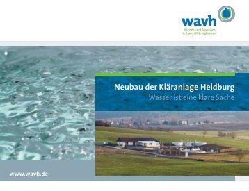 Neubau der Kläranlage Heldburg - WAVH