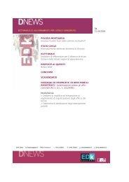 STATO CIVILE Riconoscimento sentenza straniera - Edk Editore Srl
