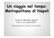 Un viaggio nel tempo: Metropolitana di Napoli - Liceo Mercalli