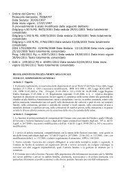 odg 149 reg polizia mortuaria locale - Comune di Bologna