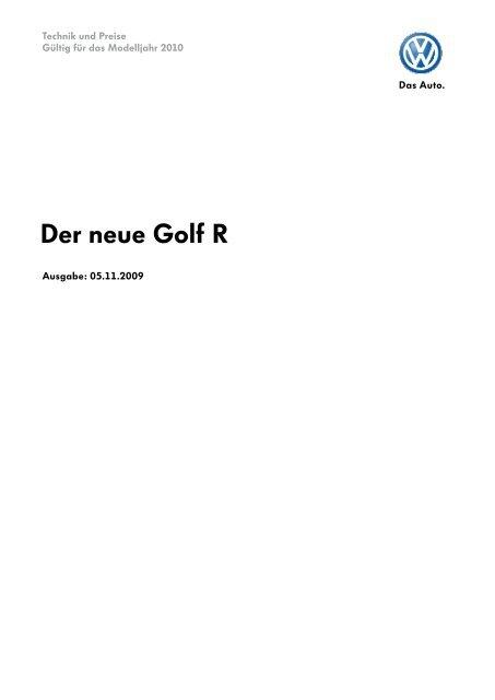 Der neue Golf R