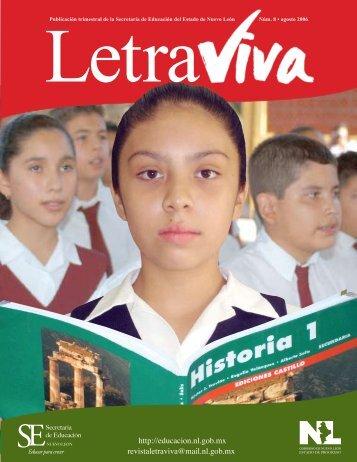 Publicación trimestral de la Secretaría de Educación del Estado de ...