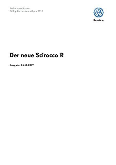 TuP Scirocco R MJ2010 051109.indd