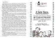 Il Sole Nero - Comune di Reggio Emilia