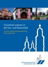 Traumhaft wohnen in der Kur- und Rosenstadt