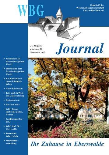 Sperrmüll Eberswalde pdf datei bei der wbg wohnungsbaugenossenschaft ilmenau