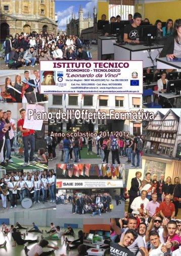 POF 2011 - 2012 - Istituto Tecnico Leonardo da Vinci - Milazzo
