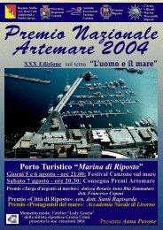 Sfoglia depliant 2004 in pdf - Artemare.it