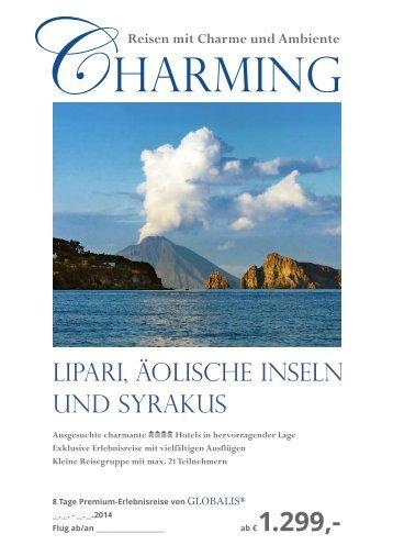 PDF des Musterprospektes - Globalis Erlebnisreisen GmbH