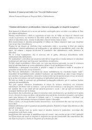 Alberto Fornasari-Ekspert në Proçeset Multi e Ndërkulturore