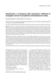 211) Brichetti P., Grattini N. & Lui F. 2005. Distribuzione e ... - Aves.it