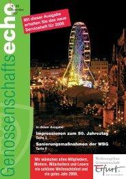 Impressionen zum 50. Jahrestag ... - 'Erfurt' eG