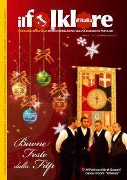 Novembre-Dicembre 2010 - Federazione Italiana Tradizioni Popolari