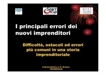 La presentazione della dott.ssa Annicchiarico e del - ARTI Puglia