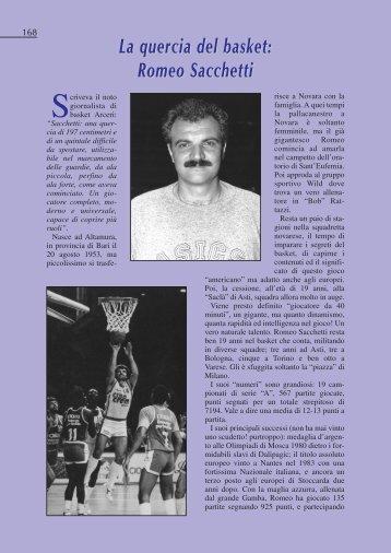 La quercia del basket: Romeo Sacchetti - Panathlon-novara.it