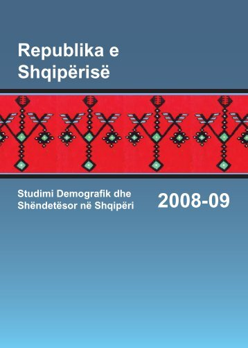 Albania Demographic and Health Survey 2008-09 ... - Measure DHS