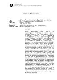 Acórdão N. 152903 - TJDFT