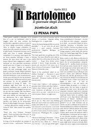 n° 7 aprile 2011 - Liceo Classico B. Zucchi