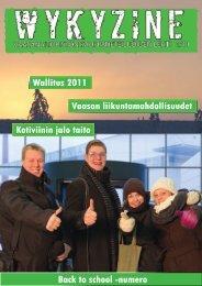 Wallitus 2011 Vaasan liikuntamahdollisuudet Kotiviinin jalo ... - Kuvat.fi