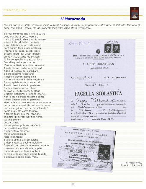 Diapositiva 1 - Associazione Nazionale Ex Allievi Teulié