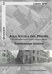 3 Alla Scuola del Priore. A 40 anni dalla morte di don Lorenzo Milani ...