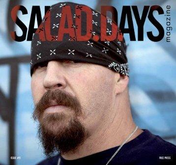 ISSUE #9 FREE PRESS - Salad Days Magazine