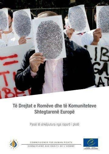 Të Drejtat e Romëve dhe të Komuniteteve ... - Council of Europe