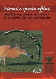 scarica il volume in .pdf - Aree Umide della Toscana Settentrionale