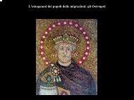 I Goti in rapporto a Unni e popoli delle steppe - Archeogr.unisi.it