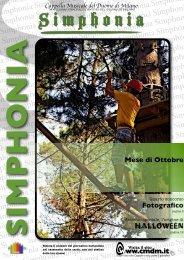 Simphonia - Notiziario C.M.D.M. - Anno V, Numero 1, Ottobre 2010