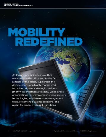 Mobility Redefined - Dell