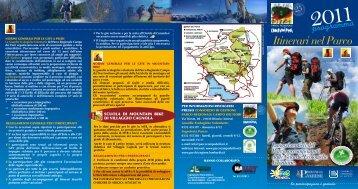 Itinerari nel Parco - Comune di Bellagio