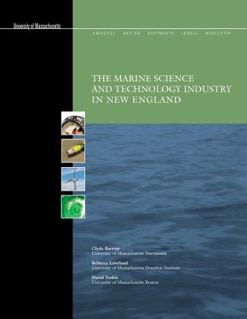 The Marine Science and Technology Industry in New England (May ...