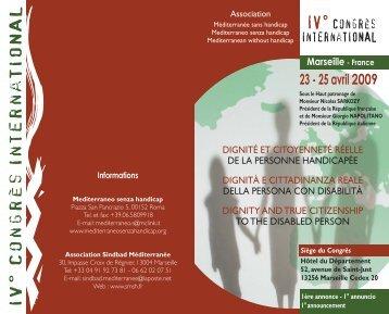 1. ANNUNCIO Marsiglia italiano - Mediterraneo senza handicap