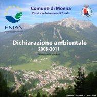 Dichiarazione ambientale - Comune di Moena